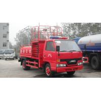 Buy JMC high altitude fire fighting water truck at wholesale prices