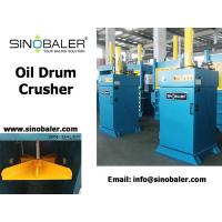 China Oil Drum Crusher on sale
