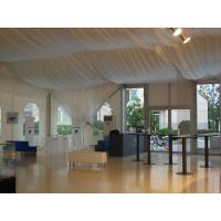 Quality Heavy Duty Ridge Wedding Party Tent Sidewall Curtain Two Years Warranty for sale