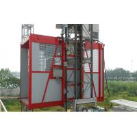 Quality Rack , Pinion Construction Personal Material Lifting Hoist Single Cage 150m Lifting Height for sale