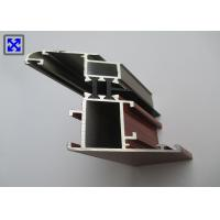 Quality Champagne / Wood Color Window Frame Profile , Aluminium Window Profiles T5 State for sale
