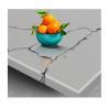 Buy cheap Custom Calacatta Quartz Vanity Tops from wholesalers