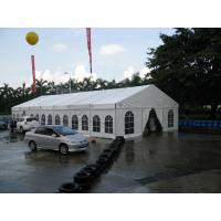 Quality Square / Circle Outdoor Event Tent White Clear Span Tent With Aluminum Profile for sale
