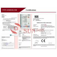 Shenzhen Sunson Tech Co., Ltd. Certifications