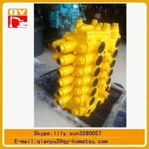 Quality komatsu 120-6  hydraulic main control valve for sale for sale