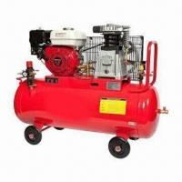Quality Heavy-duty Air Compressor with Gasoline Engine and 8 to 10 Bar Working Pressure, EPA Gasoline Engine for sale