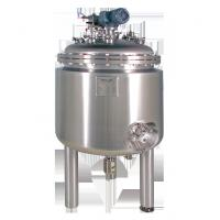 Quality 3000L custom durable High Density Horizontal double - layer Stainless Steel Tank  Agitator for sale