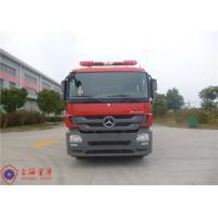 Departure Angle 11° Fire Fighting Truck With Euro IV Emission Standard