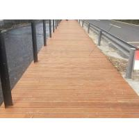 Quality Customized Waterproof Bamboo Deck Tiles 18mm Thickness 100% Natural Bamboo for sale