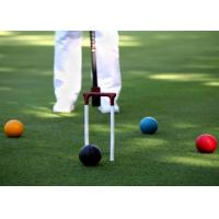 Quality Croquet Field Hard Wearing Artificial Grass 13mm Bicolor Environment Friendly for sale