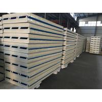 China 950# Iron Sheet Insulated Panels with Good Price Exterior Wall and Roof  PPGI Steel PU Sandwich Panel on sale