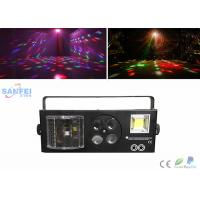 Buy Pattern / Laser / Strobe / Promise sword 4 in1 Effect LED Disco Lights Sound Control at wholesale prices
