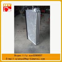 Quality komatsu excavator pc450 hydraulic oil cooler ,pc450 water tank for sale