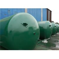 Buy ASME Approved Horizontal Air Receiver Tanks For Air Compressors Systems at wholesale prices