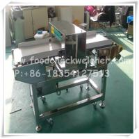 Quality Pet food processin line machine with in-line conveyor food metal detector for sale