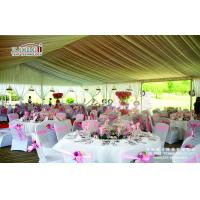 Luxury Outdoor Wedding Tents With Aluminum Frame 20 Years Life Span for sale