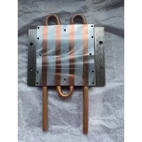 Buy cheap Water Cooling Plate With Copper Tube New Customized cooling plate for Device from wholesalers