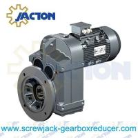 China 7.5HP 5.5KW Parallel shaft Motorized Shaft-Mount Gearmotor and Reducer Specifications on sale