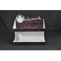 Quality White Acrylic Chocolate Display Stand , Food Service Trays Stickers Available for sale