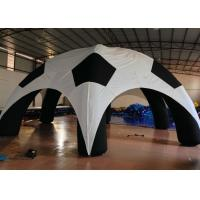 Quality Outdoor Games Inflatable Event Tent Football Style Airtight 8 X 8m High Durability for sale