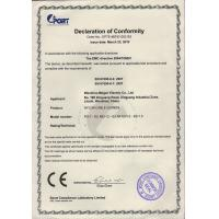 WENZHOU MOGEN ELECTRIC CO., LTD Certifications