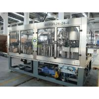 Buy cheap Multi-Head Automatic Beer Filling Machine 3-in-1 Glass Bottle With Rotary Structure from wholesalers