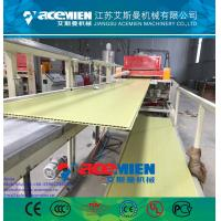 Buy cheap PVC ceiling panel extrusion machine plastic wall board extrusion line from wholesalers