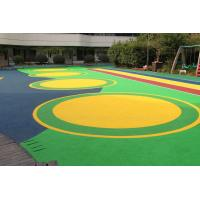 Quality Office Buildings Outdoor Playground Surface Material Anti Slip Flooring for sale