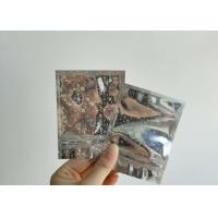 Quality Customized Structure Aluminium Foil Pouch 5 Mm Side Sealed For Cigarette for sale