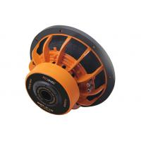 China 12/15 4+4 ohm Orange Aluminium Frame DVC Heavy Duty Car Subwoofer Double Magnet Strong Car Bass Power Speaker Low Bass for sale