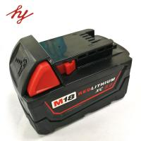 Quality Milwaukee 18volt 9.0Ah Capcacity li-ion power tool battery  corldess impact drill battery lithium hammer battery for sale
