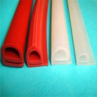 Quality Durable Silicone Extruded Profiles Electrically Insulating With Dielectric Strength 500 V/Mil for sale