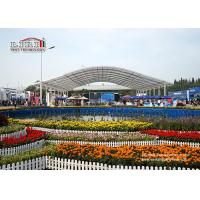 Outdoor Aluminum Frame Event Tent With Clear Top For High Class New Product Launch for sale