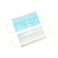 Quality Blue Safety OEM Non Woven Disposable Earloop Face Mask for sale