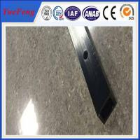 Quality 6061 t6 aluminum quality factory square tube extrusion profile / cnc drilling square tube for sale