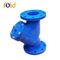 Quality Cast Iron DIN Standard Y-Strainer with Flange Ends for sale