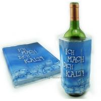 Quality Convenient Packaging Wine Cooler Bag 34.5x18.5cm With Full Color Printing for sale