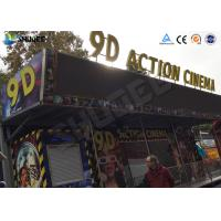 Buy 12 / 16 / 24 People 9D MoiveTheater With Motion Chair for Amusement Park at wholesale prices