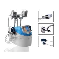 China RF Infrared Lipo Laser Machines 4 in 1 Weight Loss Cryolipolysis Handle for sale