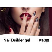 Quality Logo Printable No Heat Nail Builder Gel On Natural Nails Nice Smooth for sale