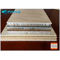 Buy cheap 2400mm * 2400mm Honeycomb Stone Panels Large Size Marble Veneer Wall Panels from wholesalers