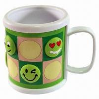 Quality Promotional Mug, Made of Silicone, Customized Designs, Sizes and Logos are Welcome for sale