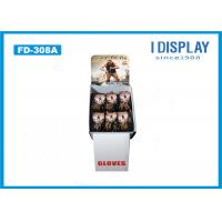 China Gloves Cardboard POP Displays , Free Standing Cardboard Displays  Special Shape on sale