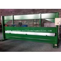 Quality TY 4m Hydraulic Color Coated Steel Sheet Bending Cutting Machine PLC  Panasonic for sale