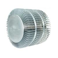 Quality Industrial Extruded Aluminum Heatsink For LED Fixture Round Extrusion Heatsink Profile for sale