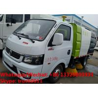 2019s cheaper price gasoline China made smallest street sweeping vehicle for sale, road sweeper cleaning truck for sale