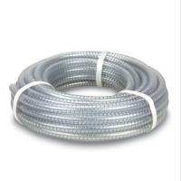 Quality Factory PVC Pipe Fitting PVC Spiral steel wire reinforced hose/ transparent pvc pipe for Irrigation Sprinkler Agricultur for sale
