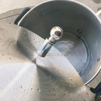 Quality Stainless Steel Ss304 Ss316L CIP Revolved Spray Cleaning Ball for sale