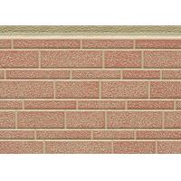 Quality Decorative Insulated Pu Foam Sandwich Panel Brick Type Eco - Friendly for sale