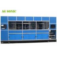 Quality Automatic Industrial Ultrasonic Cleaner With Mechanical Arm For Solar Silicon Wafer for sale
